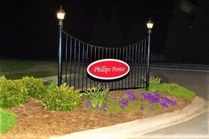Phillips Pointe Entrance Sign